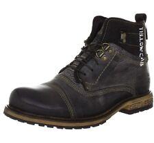 Yellow Cab SOLDIER M Combat Boots Mens Brown Braun (Dk brown) Size: 6.5 UK 40 EU