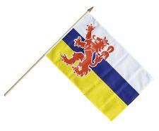 Niederlande Limburg Stockflagge Flaggen Fahnen Stockfahne 30x45cm