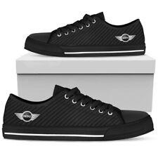 Black Mini Cooper Men's Low Top Shoes