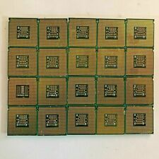 Lot of 20 Dotted Gold CPU LGA 771/775 Processors Scrap Recovery Precious Metals
