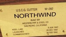 USCG Cutter NorthWind Comision Plaque