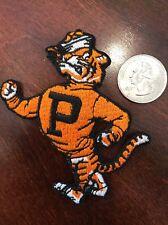 "Princeton University Princeton Tigers Embroidered Iron On Patch 3.5"" X 2.5"" Nice"