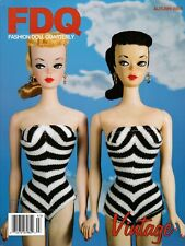 Fashion Doll Quarterly FDQ Magazine Autumn 2009 Vintage Barbie TDLM BJDs Valia