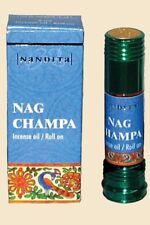 Nag Champa  Nandita Incense Oil/Roll On 1/4 Ounce Bottle Attar Fragrance