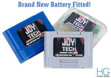 3rd Party Nintendo 64 N64 Joy Tech Memory Card Pak / Plus