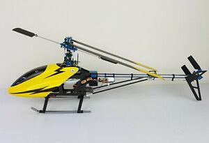 Titan 3D 450 V2 Model Helicopter RTF T-Rex Clone Many Spares+Upgrades