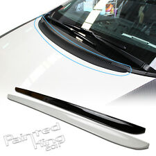 PAINTED HOOD FRONT LIP BONNET SPOILER For ALL CAR MODEL BMW/BENZ/LEXUS/AUDI