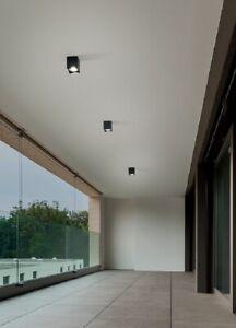 Deckenleuchte Im Freien / Innenraum Serie Brick Aluminium Weiß O Graphit Perenz