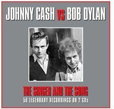 Bob Dylan, Johnny Cash & Bob Dylan - Singer & the Song [New CD] UK - Import