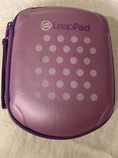 LeapFrog LeapPad1 LeapPad2 Carrying Case Purple Polka Dot tablet tote