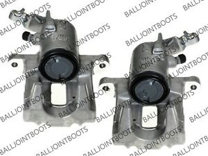 BRAKE CALIPERS FOR VW GOLF V / VI REAR NEAR & OFFSIDE  PAIR