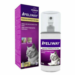 Feliway Calming Pheromone Spray for Anxious Cats - 60ml - Genuine Aussie Stock