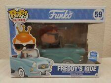 Funko Pop! Rides #59 Freddy's Ride Funko Shop Exclusive Light Blue Car Vinyl Toy