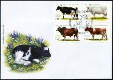 Ukraina-2015 Pets. Cows FDC