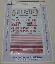 MICROSCALE DECAL HO SCALE 87-580 Union Pacific #8080 Coal Turbine Locomotive