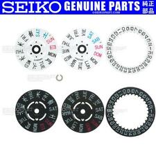 Wheel f/ Skx007 Skx009 7S26 Nh36 4R36 Genuine Seiko Day Date Disc Disk Dial Clip
