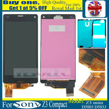 For Sony Xperia Z3 Compact Mini D5803 LCD Display Touch Screen Digitizer Black