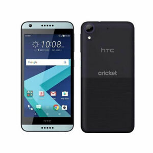 HTC Desire 550 (Unlocked - Cricket Wireless) Blue Android 4G LTE 16GB Smartphone