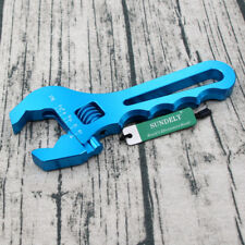 3AN-16AN Adjustable Spanner Aluminum Anodized Wrench Fitting Tools Blue NEW