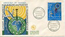 FDC / PREMIER JOUR DAHOMEY COTONOU / UNION AFRICAINE MALGACHE DES POSTES 1963