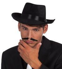 Fausse Moustache Gangster Noire
