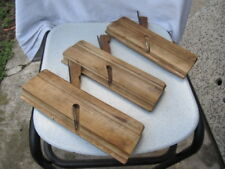 OLD ANTIQUE PRIMITIVE WOODEN TOOLS USED IN BUILDING GRATER CARPENTY WOODWORKING
