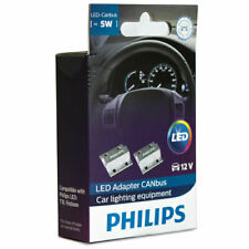 PHILIPS LED CANbus Adaptor for 5W 12V LED Bulbs 12956X2 Set of 2