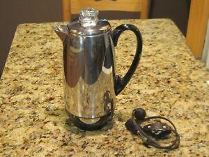 Vintage Flavo-Perk 6-10 Cup Coffee Percolator Model #17238