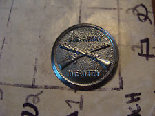 vintage Kids US ARMY INFANTRY badge, thin metal