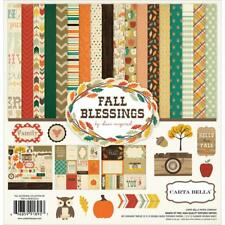 Carta Bella ~ FALL BLESSINGS ~ 12x12 Collection Kit