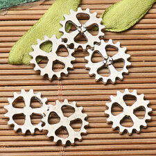 25pcs dark silver color gear parts  design for jewerly making  EF2766