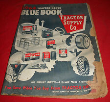(Drawer 18) Vintage 1964 Tractor Supply Company Tractor Parts Blue Book
