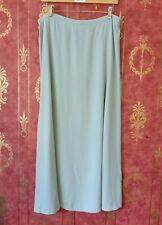 Eileen Fisher Casual Maxi Skirt. 100% Silk. Light Blue. Sz L.
