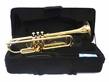 Woodnote TP-700GD - Gold Lacquer / Monel Valves Bb Trumpet with Case