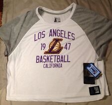 NBA 4 Her By UNK Los Angeles Lakers Size large