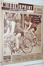 MIROIR SPRINT N°521 04/06 1956 CYCLISME GAUTHIER STADE RENNAIS RUGBY LOURDES DAX