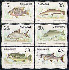 Zimbabwe 1989 Fish/Nature/Marine/Wildlife 6v set n31083