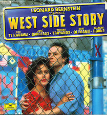 "LP 12"" 30cms: BO du film: west side story. Leonard Bernstein. DG 2 LP"