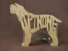 Italiano Spinone Dog Amish Made Wooden New Puzzle Toy