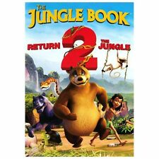The Jungle Book Return 2 the Jungle(DVD,2013,NEW)Baloo Mowgli Family Fun-New