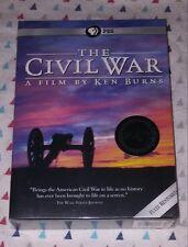 NEW! PBS/ KEN BURNS: THE CIVIL WAR. 2015 ANNIVERSARY ED. 6-DISC SET. SHIPS FREE