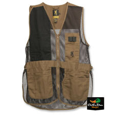 NEW BROWNING TRAPPER CREEK LIGHTWEIGHT SHOOTING RANGE VEST CLAY BLACK