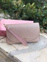 NWT Kate Spade Joeley Boxed Multifunctional Wristlet Gift Set Glitter Wallet