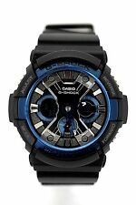 CASIO G-Shock GA200CB-1A Analog Digital Black Dial Black Resin Band