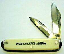 couteau canif publicitaire vintage WINCHESTER chasse publicité USA pocket knife