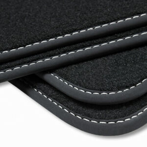 NEW Econ-Line Porsche Cayenne Black Carpet Car Mats - 2011–2018 92A OEM Specs