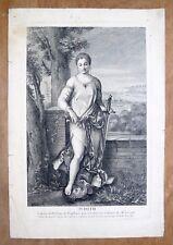 Eau forte, Judith, Larcher d'après Raphael, Ecole française du XVIIIe