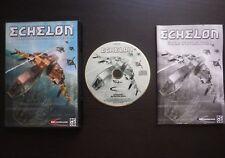 JEU PC CD-ROM : ECHELON (Mindscape COMPLET envoi suivi)
