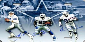 Dallas Cowboys Troy Aikman Emmit Smith Michael Irvin Poster License Plate