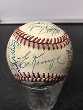 1969 New York Mets Team Baseball 23 Autographs including Nolan Ryan Tom Seaver